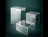 Многоуровневые подставки для выкладки товара, подставка куб, подставка лестница, изделия из пластика